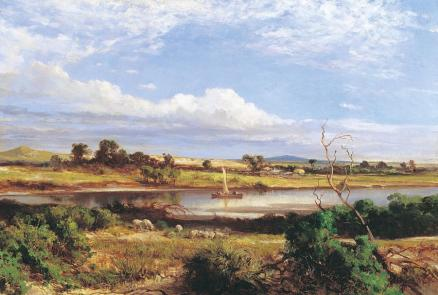 Louis Buvelot_The Barwon